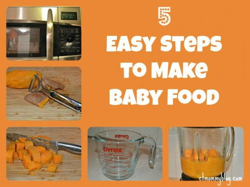 5 Steps to Make Baby Food