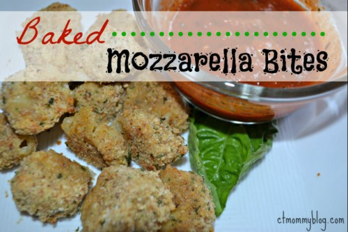 Baked Mozzarella Bites Recipe