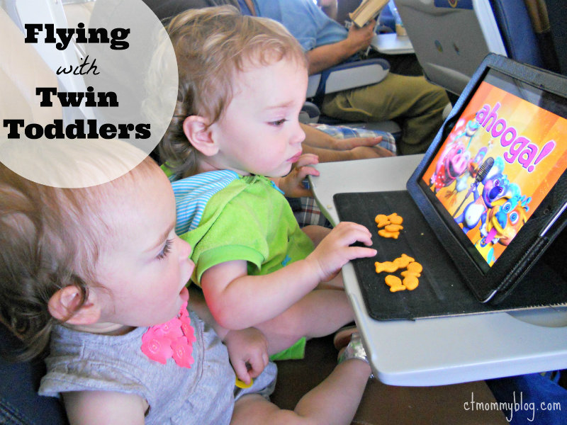 Used Toys For Toddlers : Flying with twin toddlers ct mommy blog