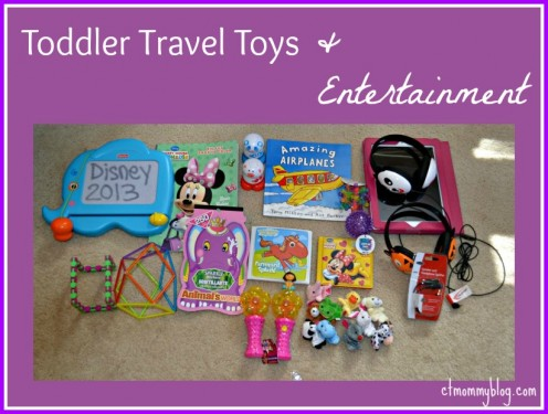 Toddler Travel Toys and Entertainment