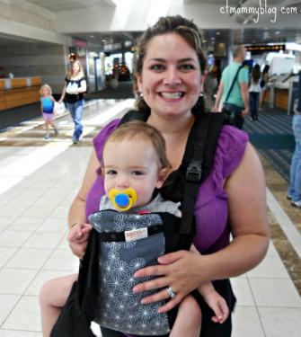 Wear baby on Plane