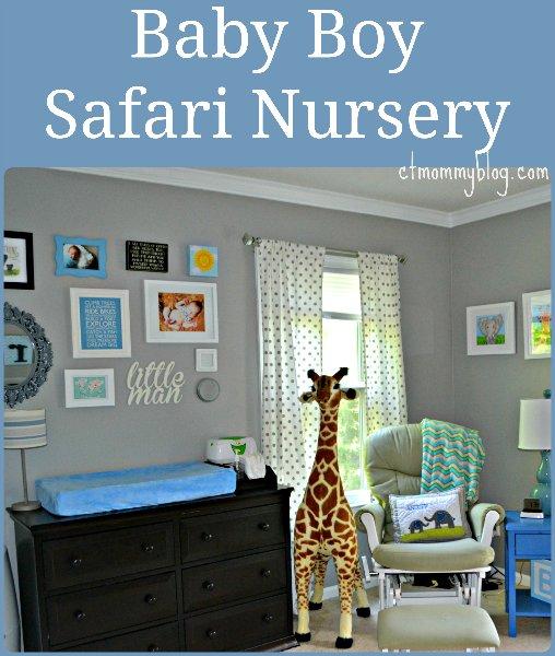 Our Baby Boy Safari Nursery Ct Mommy Blog