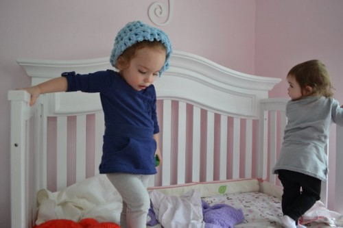 Converting crib into toddler bed