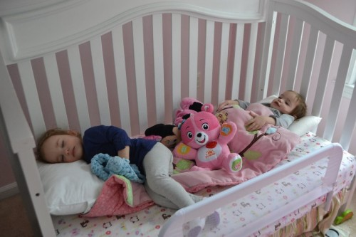 Moving twins into toddler beds