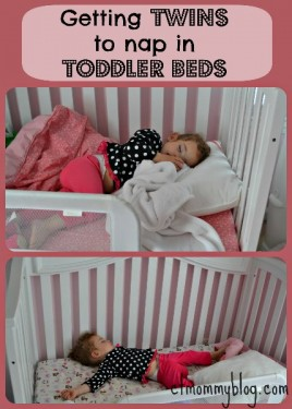 Napping in toddler beds