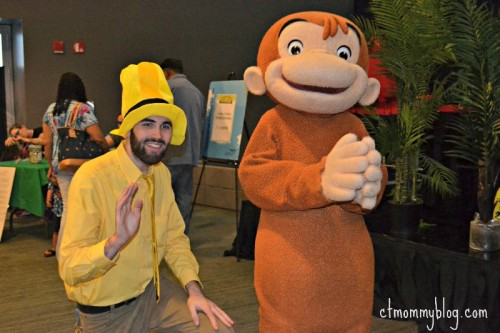 CT Science Center Spring Fling with Curious George