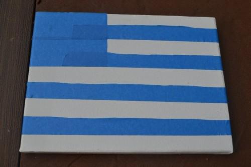 Preschool Flag Project