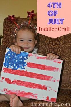 Flag Finger Paint Craft