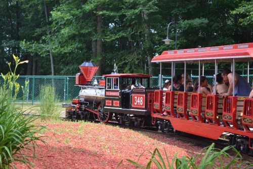 Lake Compounce Train Ride