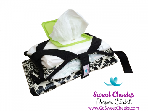 Sweet Cheeks Diaper Clutch
