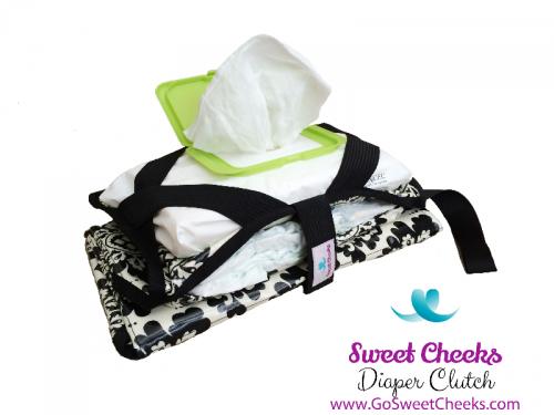 Sweet Cheeks Diaper Clutch