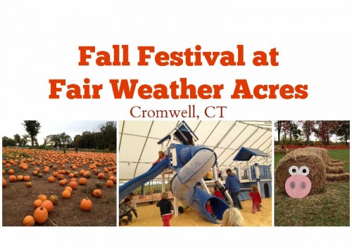 Fall Festival Fair Weather Acres