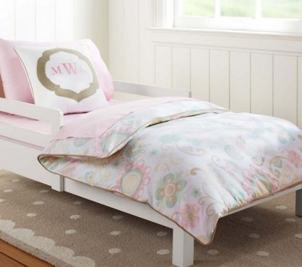 Maya Toddler Duvet Cover Pottery Barn