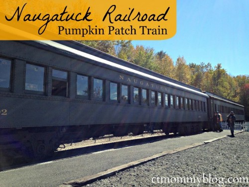 Naugatuck Railroad Pumpkin Patch Train