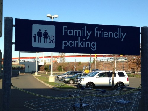 Family Friendly Parking IKEA