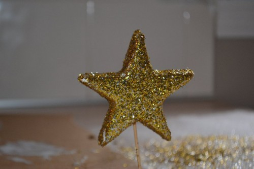 Star for Burlap Tree