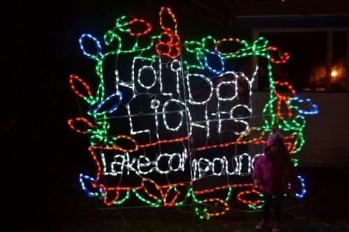 Christmas Lights Lake Compounce