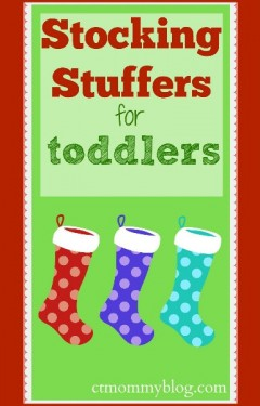 Christmas Stocking Stuffers for Toddlers