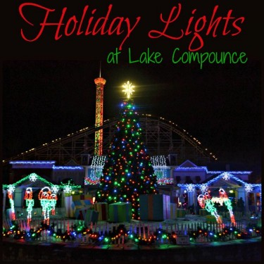 Holiday Lights at Lake Compounce in Bristol, CT