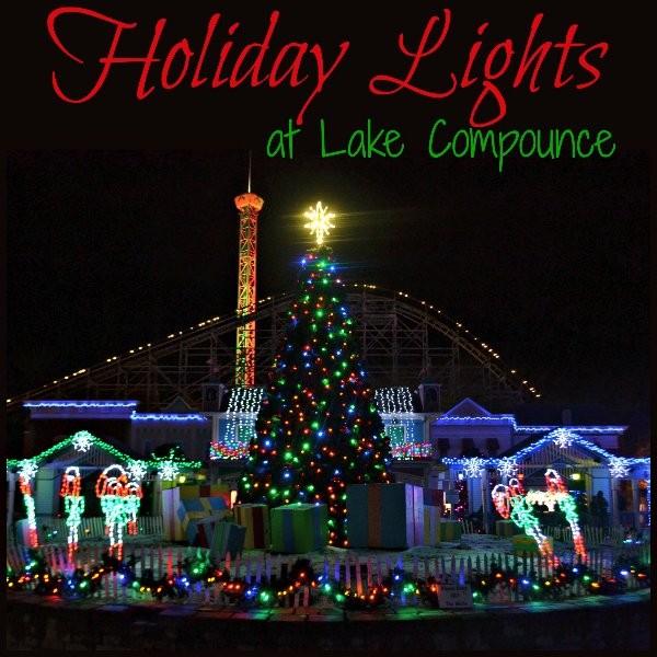Christmas At The Lake: Holiday Lights At Lake Compounce In Bristol, CT