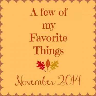 Love List November 2014