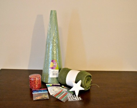 Burlap Christmas Tree Supplies List