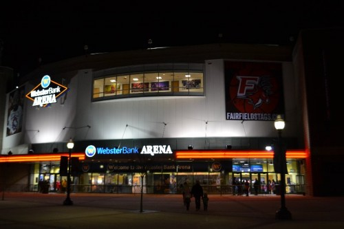 Webster Bank Arena Bridgeport CT