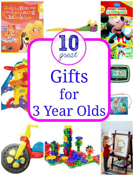 Favorite Toys For A 3 Year Old