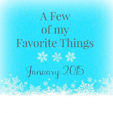 Love List January 2015