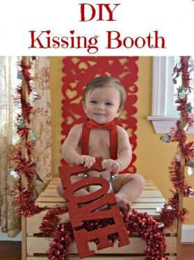 Valentine's Day Kissing Booth Tutorial