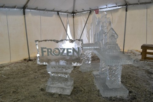 Ice Sculptures Winterfest Lyman Orchards
