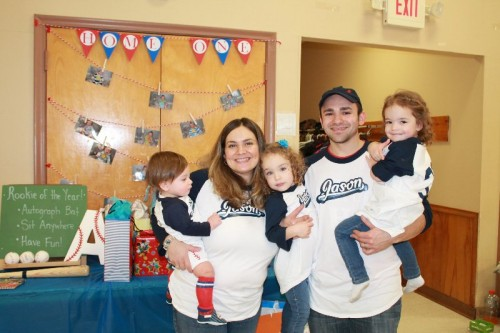 Rookie of the Year 1st Birthday Party - Family Shirts