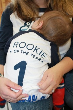 Rookie of the Year 1st Birthday