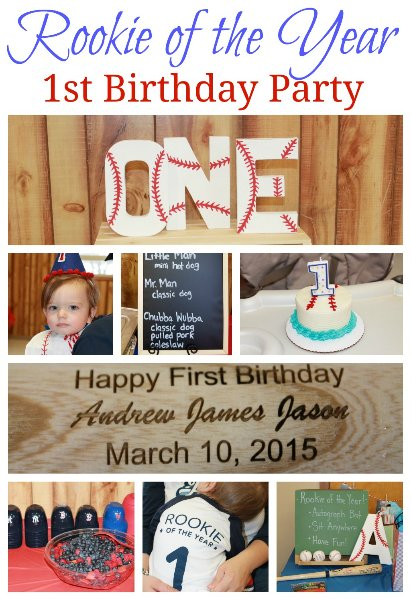 Baseball 1st Birthday Party
