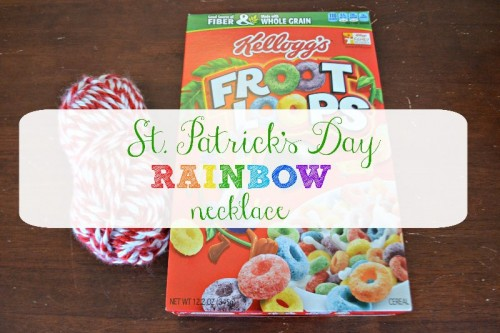 St. Patrick's Day Preschool Craft