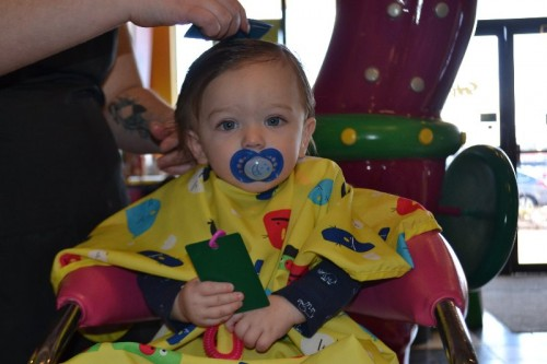 Snip-its First Haircut
