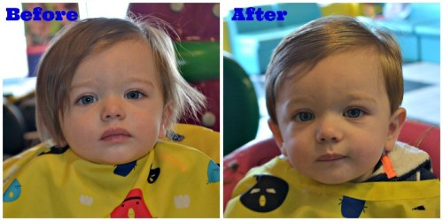 Boy 1st Haircut