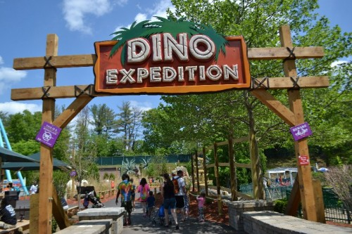 Dino Expedition Lake Compounce