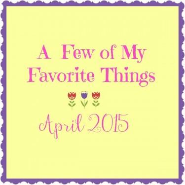 Love List April 2015