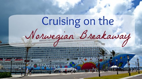 Cruising on the Norwegian Breakaway