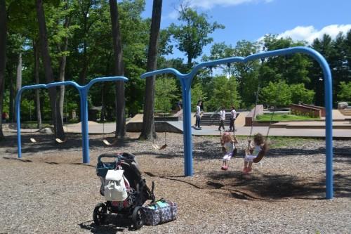 Rockwell Park Playground Bristol, CT