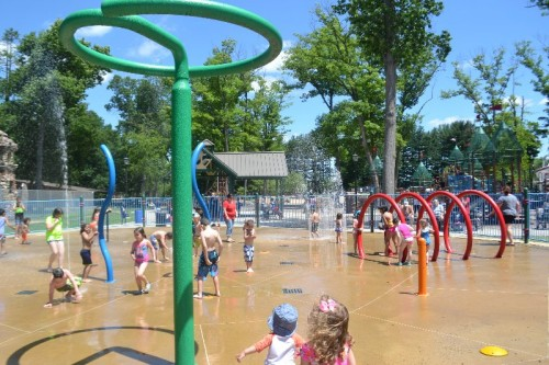 Rockwell Park Splash Pad