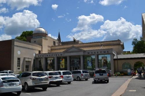 Springfield Museums Parking
