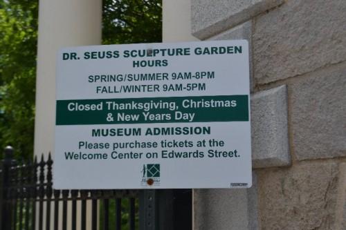 Dr. Seuss Sculpture Garden Springfield
