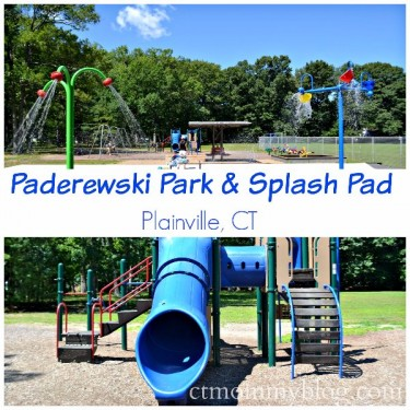 Paderewski Park & Splash Pad Plainville CT