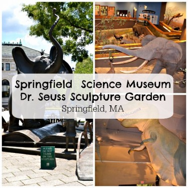 Springfield Science Museum & Dr. Seuss Sculpture Garden