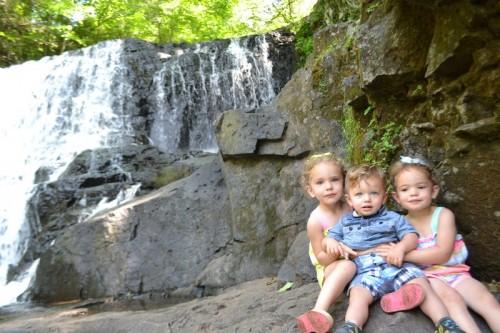 Big Falls Waterfall CT