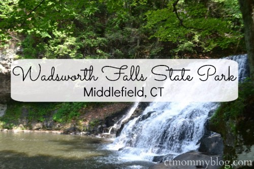 Wadsworth Falls State Park in Middlefield, CT