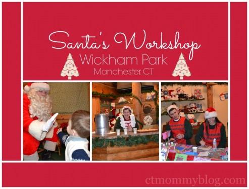 Santa's Wokshop Wickham Parm Manchester, CT
