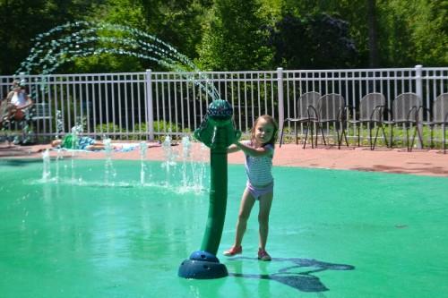 Dinosaur Place Splash Pad